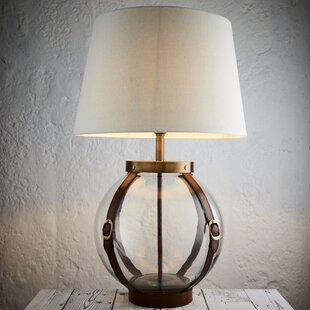 Glass base table lamps wayfair 45cm table lamp base mozeypictures Gallery