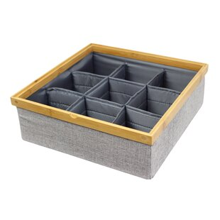 Comparison Twill Stackable Closet Storage Tray By In This Space