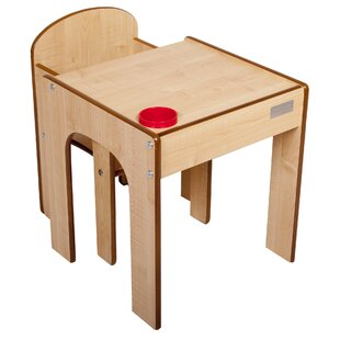 Maud 2 Piece Table And Chair Set By Harriet Bee