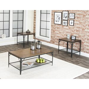 Moraga 3 Piece Coffee Table Set by Trent Austin Design