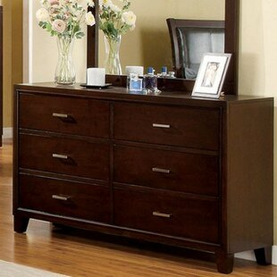 Darby Home Co Leeanna 6 Drawer Double Dre..