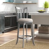 Padgett Bar & Counter Swivel Stool by Andover Mills™