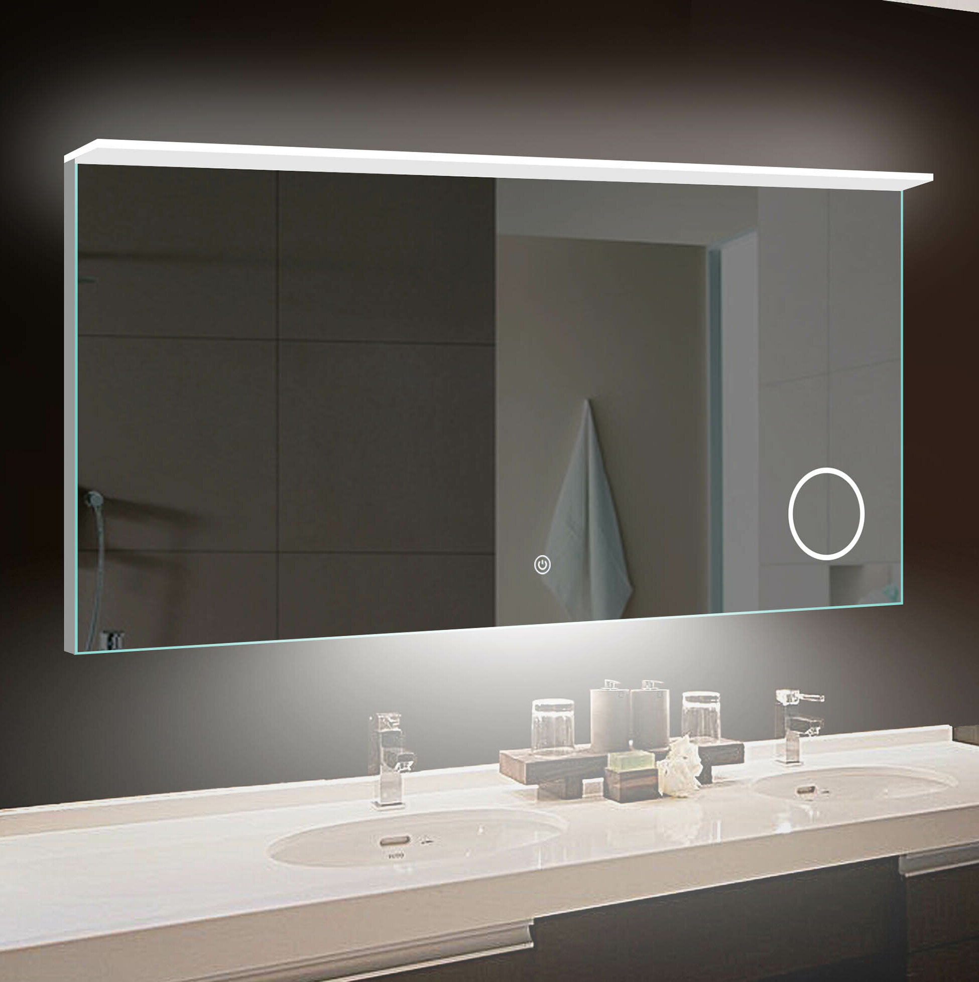 Transit LED Bathroom/Vanity Mirror