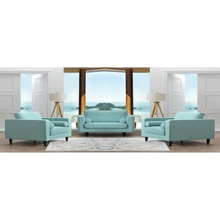 Corrigan Studio Harworth 3 Piece Living R..