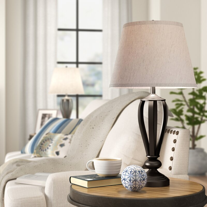 Three Posts Mcloud 30 Table Lamp Set Reviews Wayfair