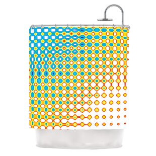 Psychedelic Art by Dawid Roc Single Shower Curtain By East Urban Home