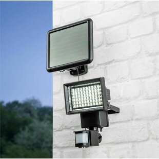 Jamie-Leigh LED Solar Outdoor Sconce With Motion Sensor By Sol 72 Outdoor