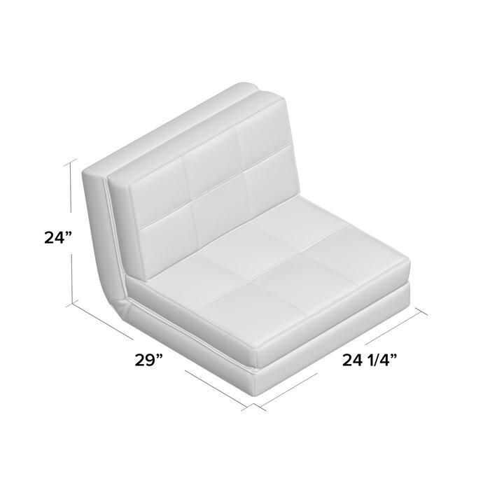 Pleasing Onderdonk Convertible Chair Inzonedesignstudio Interior Chair Design Inzonedesignstudiocom