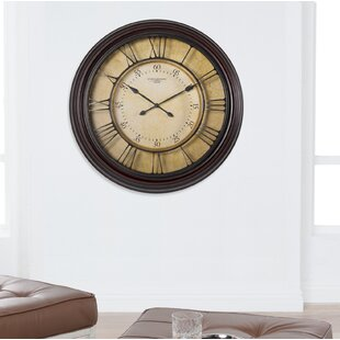 Oversized Chateau Traditional 24 Wall Clock by Studio Designs HOME
