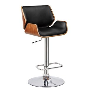 Guisborough Adjustable Height Swivel Bar Stool by Corrigan Studio Reviews