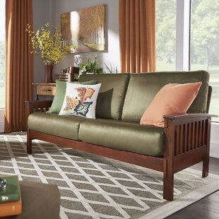 Beau Rust Sofa | Wayfair