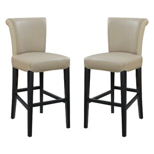 Crabb 30 Bar Stool (Set of 2) Red Barrel Studio