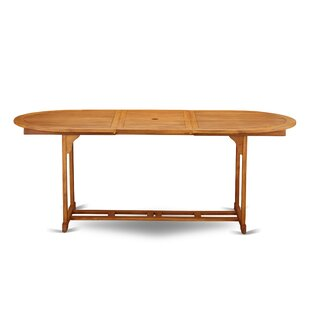 Rahul Solid Wood Dining Table by Longshor..