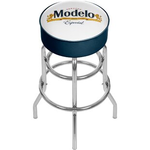 Modelo 31 Swivel Bar Stool by Trademark Global