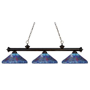 Earleville 3-Light Pool Table Pendant by August Grove
