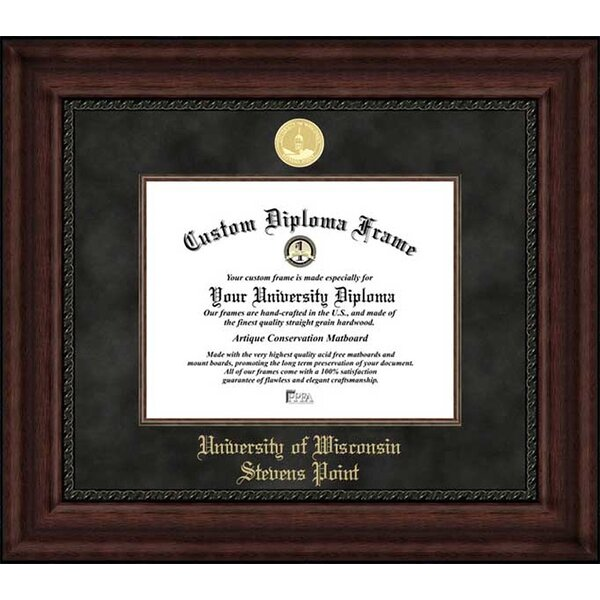 Diploma Frame Deals University Of Wisconsin Stevens Point Executive Picture Frame Wayfair
