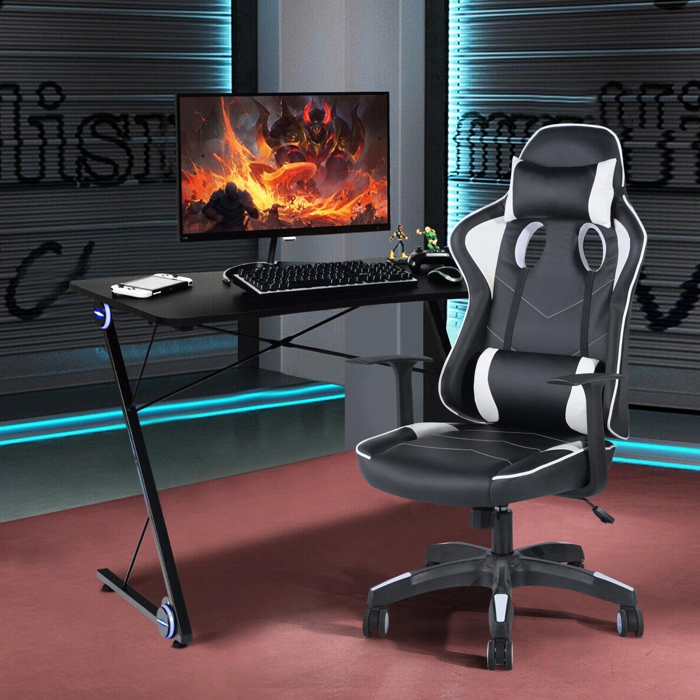 Ebern Designs De Soto Gaming Chair & Reviews   Wayfair