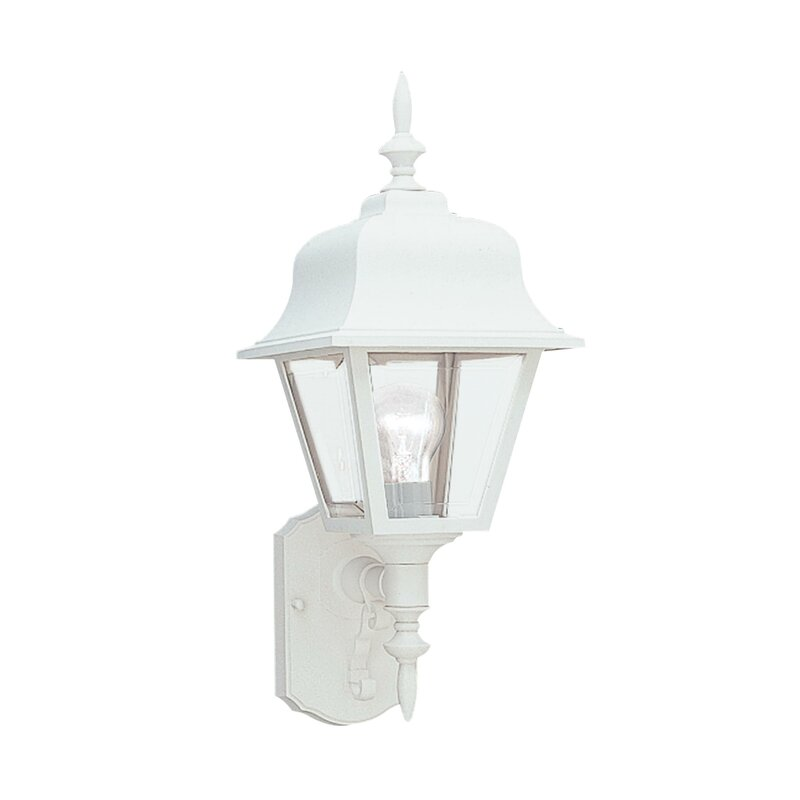 Alcott Hill Reeder 1 Light Outdoor Wall Lantern Wayfair