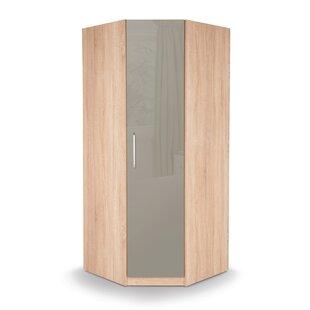 Akeem 1 Door Corner Wardrobe By 17 Stories