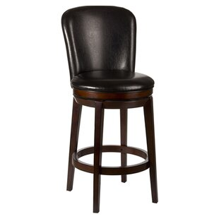 Atterbury 26 Swivel Bar Stool Red Barrel Studio