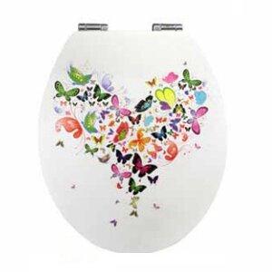 WC-Sitz Butterfly Rund von Nicol