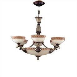 Zanin Lighting Inc. Alicante 9-Light Shaded Chandelier