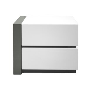 Kajal 2 Drawer Nightstand