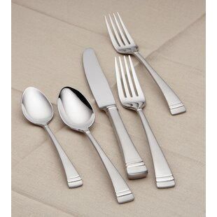 Federal 5 Piece Flatware Set, Service for 1
