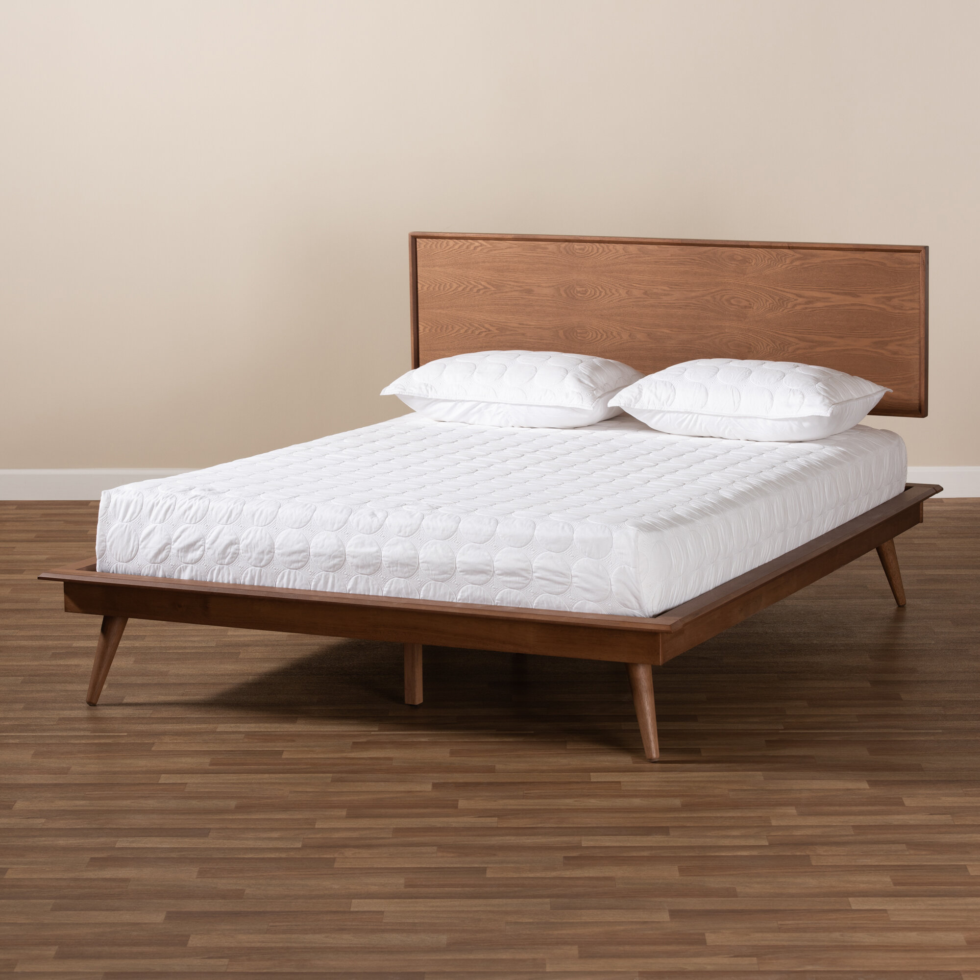 George Oliver Collett Mid Century Modern Platform Bed Reviews