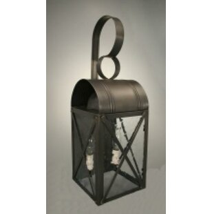 Adams 2-Light Outdoor Wall Lantern By Northeast Lantern Outdoor Lighting