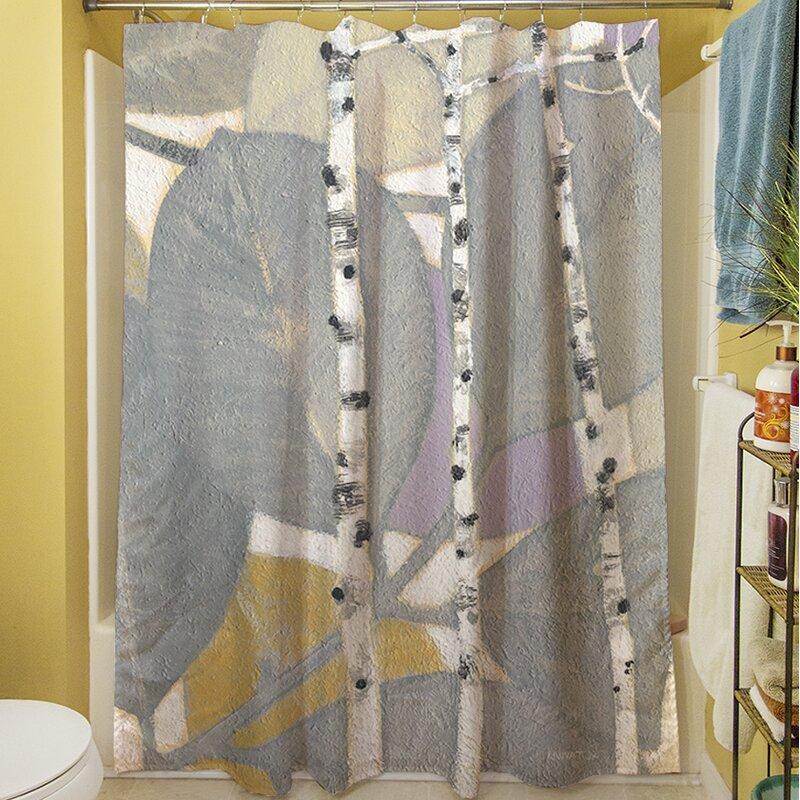 Birch Leaf I Shower Curtain