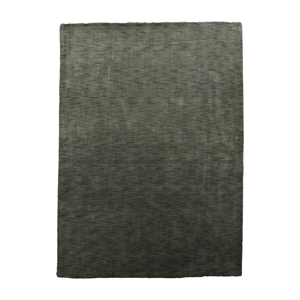 Latitude Run Delano Hand Knotted Wool Green Area Rug Reviews Wayfair