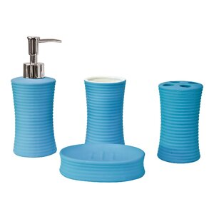 Bathroom Accessories Blue blue bathroom accessories | wayfair.co.uk