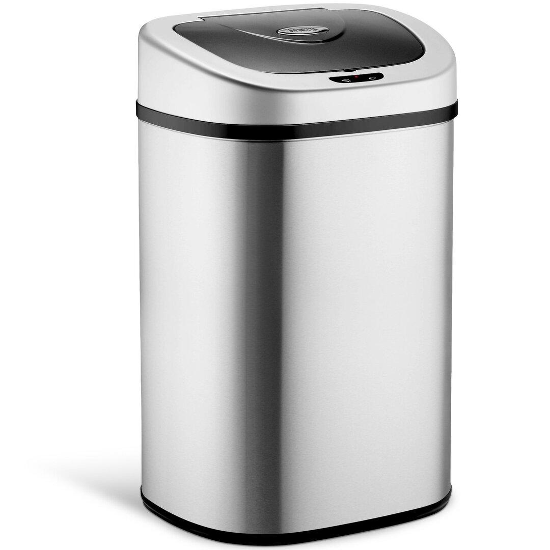 Kitchen Sensor Bin, 80L Large Touch Free Waste Rubbish Bin -