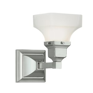 Schaefferstown 2-Light Glass Shade Vanity Light