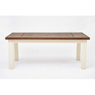 Shunk Wind Rose Solid Wood Dining Table by Breakwater Bay Today Sale Only