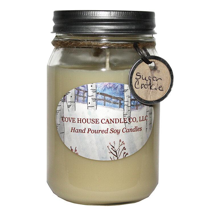 Covehousecandleco Sugar Cookie Scented Jar Candle Reviews Wayfair