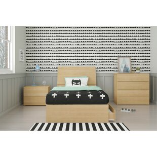 Lawrenceville Twin Platform 4 Piece Bedroom Set