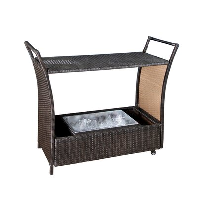 Armonk Cancun Bar Serving Cart by Brayden Studio