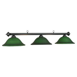 Bowdon 3-Light Billiards Light By Fleur De Lis Living