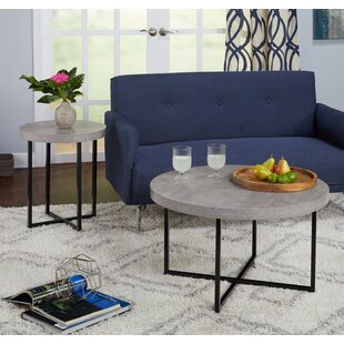 Wrought Studio Quan 2 Piece Coffee Table Set