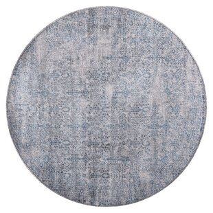 Schofield Gray/Blue Area Rug by Bungalow Rose