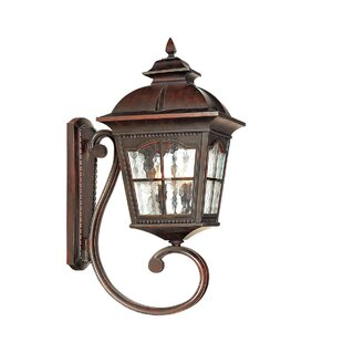 Goldener Outdoor Wall Lantern By Astoria Grand