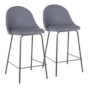 Yarnell 25 Bar Stool (Set of 2) Orren Ellis