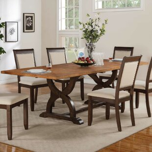 Clarkdale 7 Piece Extendable Solid Wood Dining Set