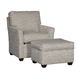 Darby Home Co Cueva Club Chair and Ottoman