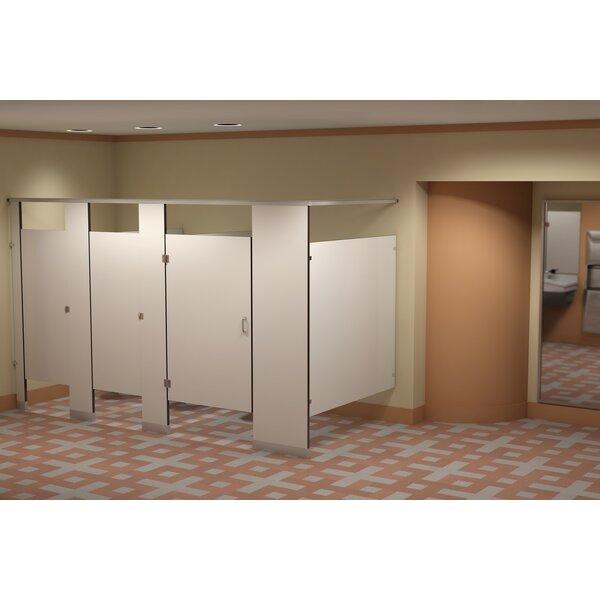 Bradley Corporation Solid Phenolic Core Overhead Braced Toilet Partitions Wayfair