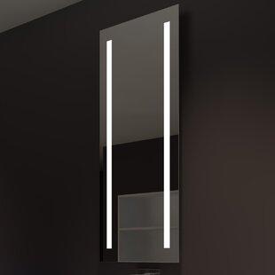 Orren Ellis Lency Modern Illuminated Bathroo..
