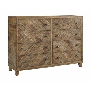 Jessamine 8 Drawer Double Dresser