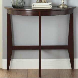 Richburg Half Moon Wooden Console Table by Charlton Home